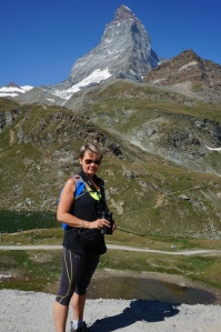 Scwarzee, utsikt mot Matterhorn